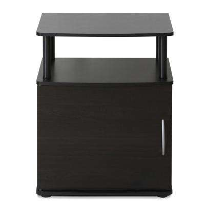 JAYA Utility Design Blackwood End Table