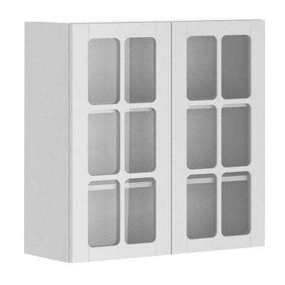 Odessa Ready To Assemble 30 X 30 X 12.5 In. Wall Cabinet In White Melamine
