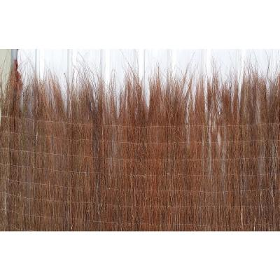 42 in. H Untrimmed Natural Heather Brushwood Fence