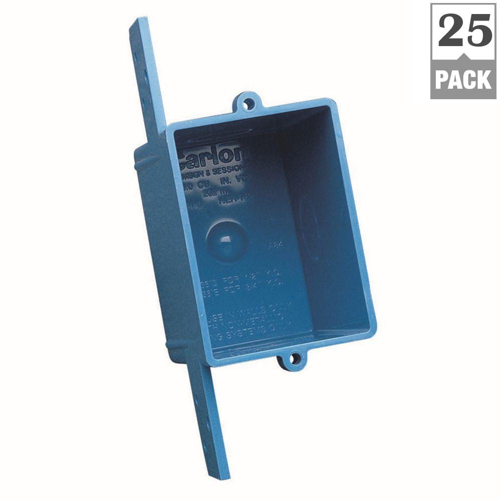 Carlon 1-Gang ENT Switch and Outlet Box (25-Pack)