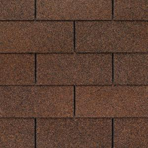 Wonderful GAF Royal Sovereign Autumn Brown 25 Year 3 Tab Shingles (33.33 Sq. Ft. Per  Bundle) 0201050   The Home Depot