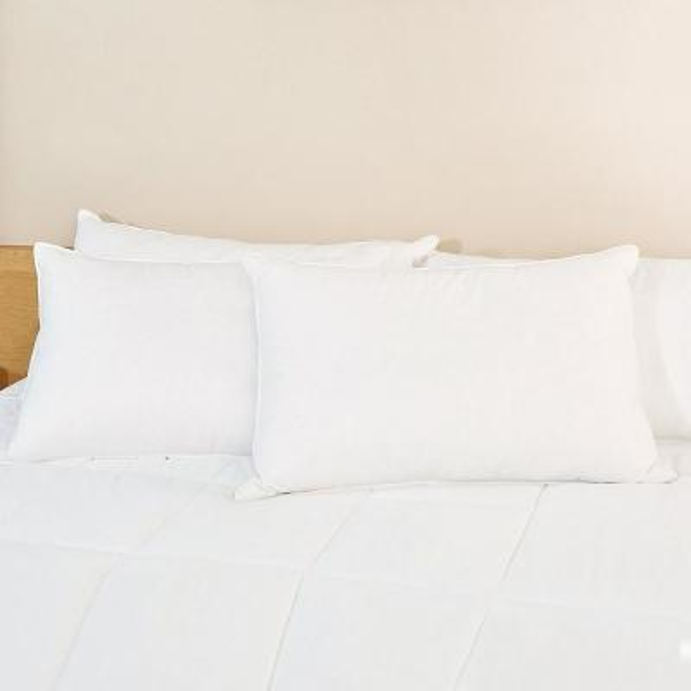 Jacquard Down Alternative Standard Pillow (Set of 2)
