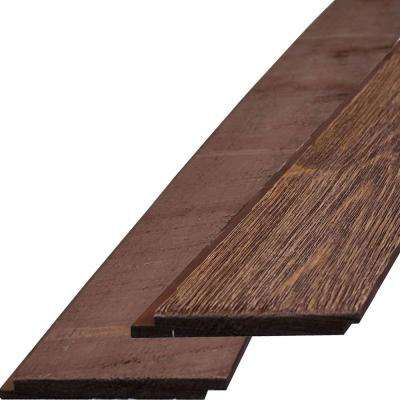 3/4 in. x 6-1/4 in. x 96 in. Red Barn Barnwood Barntique Gaynes Ship Lap Wall Panels