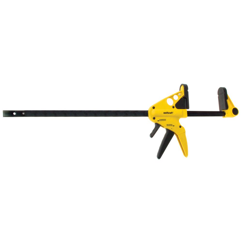 Wolfcraft Professional 36 in. 1-Hand Bar Clamp and 44 in....