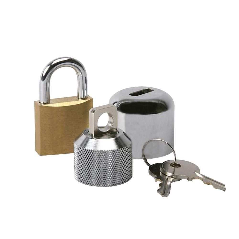 ConservCo Hose Bibb Lock with Padlock-DSL-2 - The Home Depot