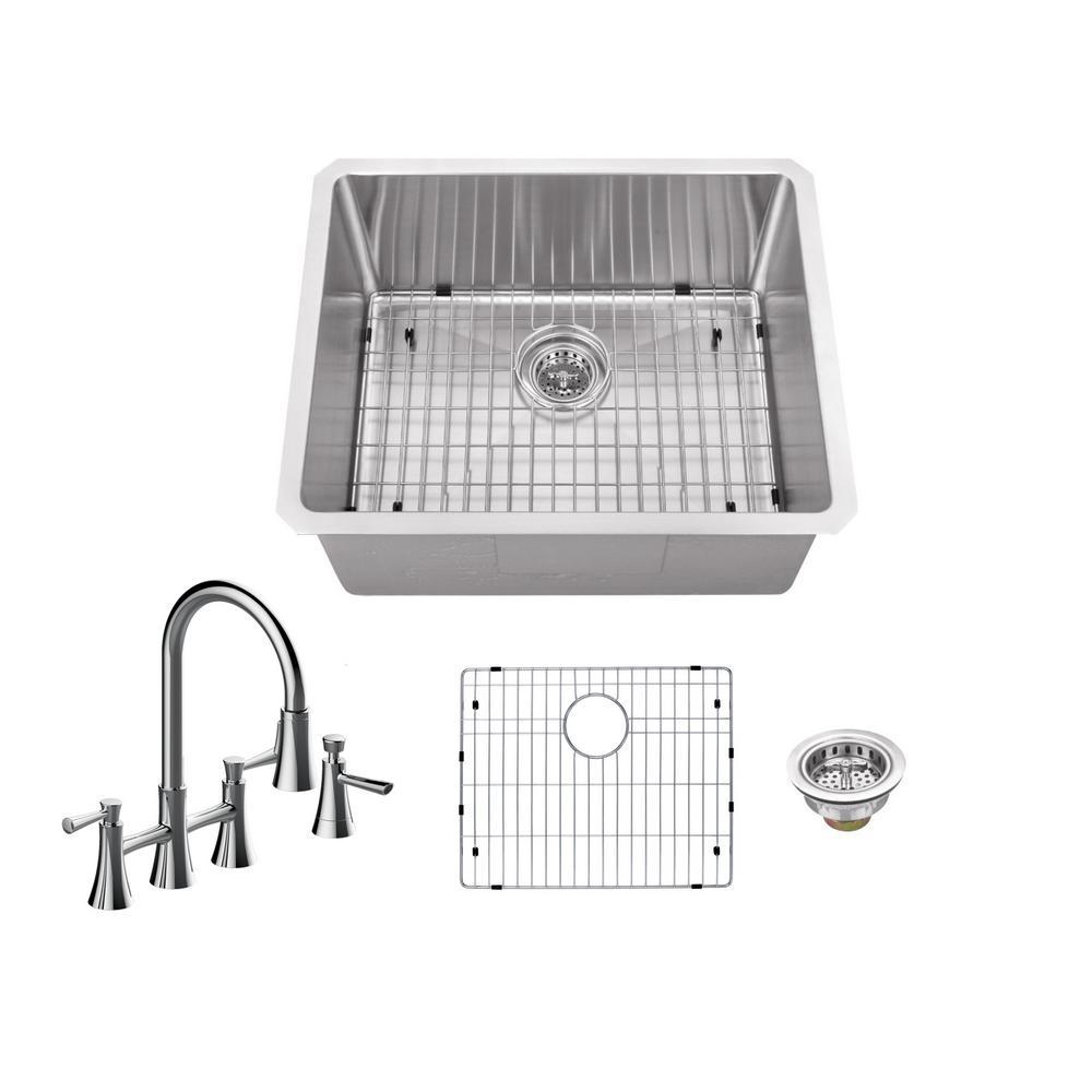 Schon Kitchen Sink Single Stainless Undermount