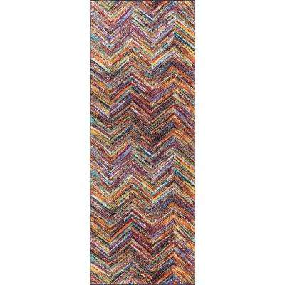 Symphony Multi 3 ft. x 7 ft. Runner