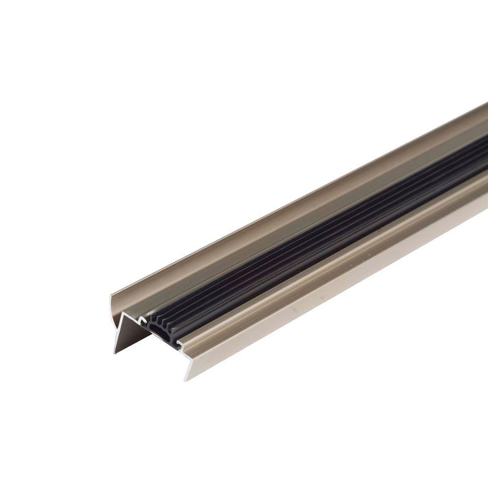 M D Building Products 36 In Satin Nickel U Shaped Door