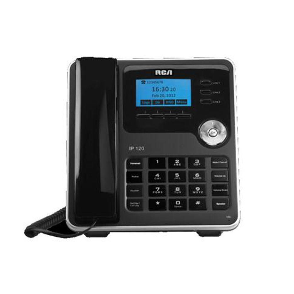 RCA 3-Line HD Voice VOIP Phone-DISCONTINUED