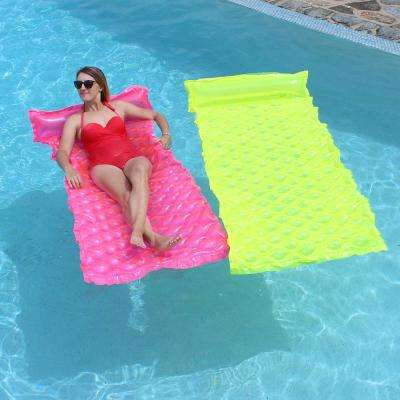 Pink and Yellow Smart Pool Float (2-Pack)