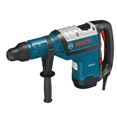 13.5 Amp 1-3/4 in. Corded Variable Speed SDS-Max Rotary Hammer Drill with Auxiliary Handle and Carrying Case