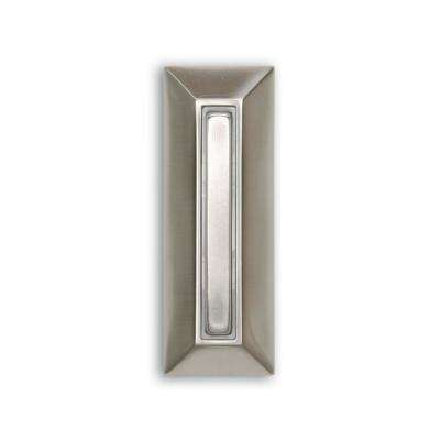 Wired Lighted Door Bell Push Button, Nickel