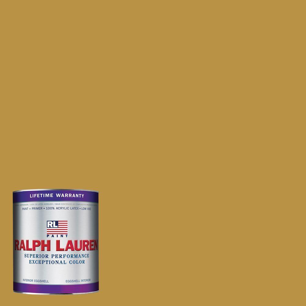 Ralph Lauren 1-qt. Satchel Gold Eggshell Interior Paint
