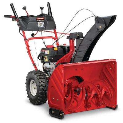 26 in. Two-Stage 243cc Electric Start Self Propelled Gas Snow Blower with 1-Hand Operation