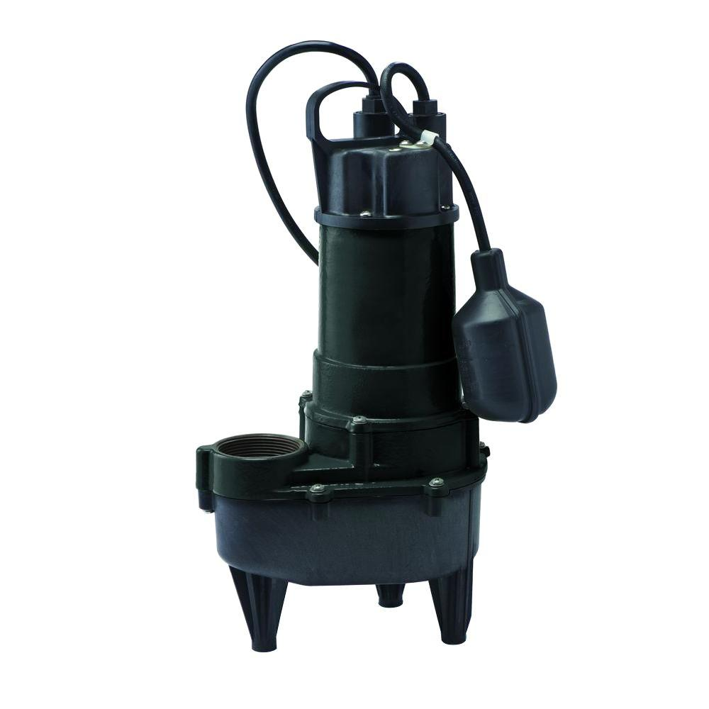 Everbilt 4/10 HP Submersible Sewage Pump