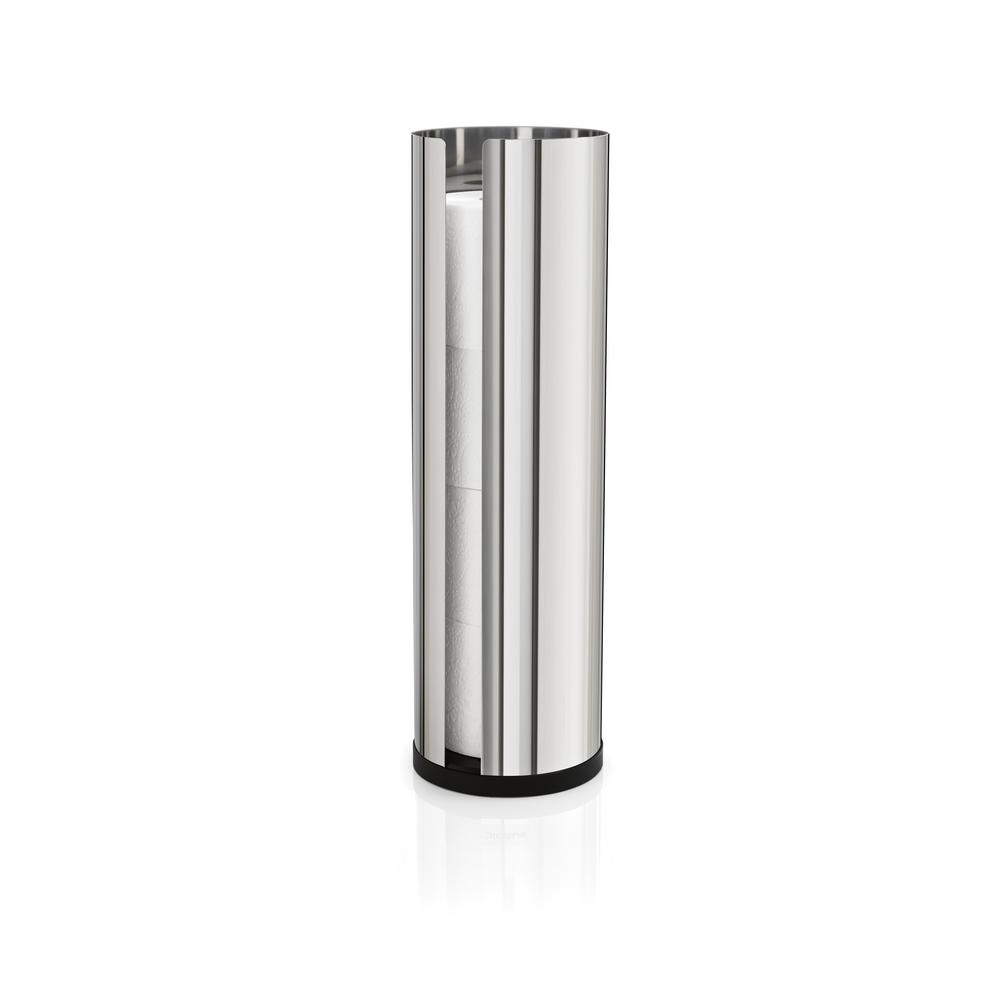 Blomus Nexio 4 Roll Toilet Paper Hold in Polished Stainless Steel