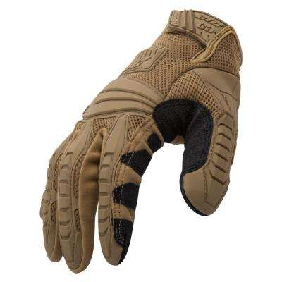 Impact/Cut Resistant Tactical Small Air Mesh Safety Work Glove