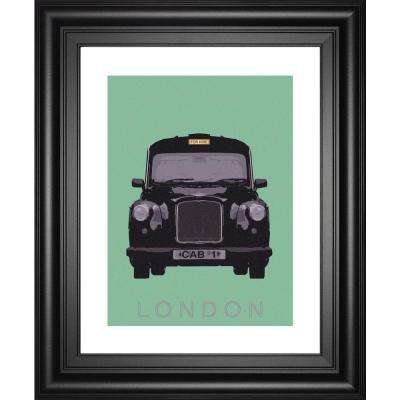 """22 in. x 26 in. """"London Transport 1"""" by Ben JameS Framed Printed Wall Art"""