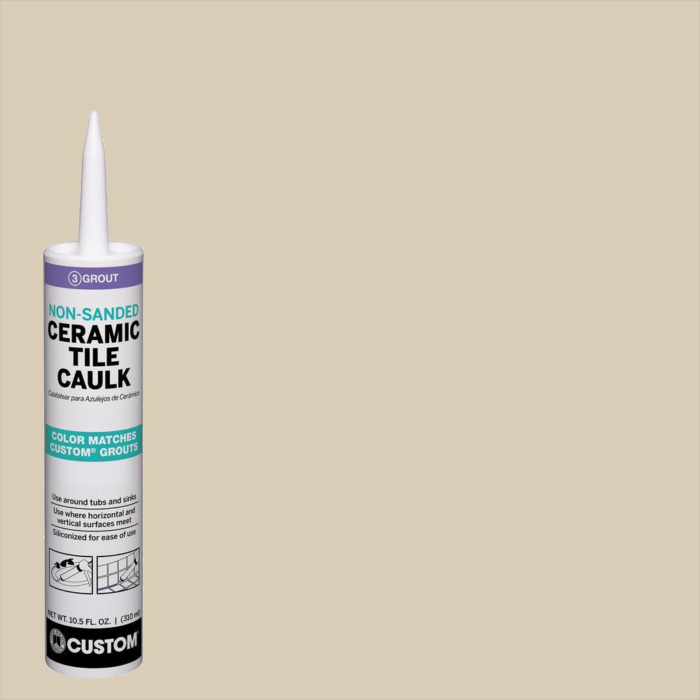 Polyblend #10 Antique White 10.5 oz. Non-Sanded Ceramic Tile Caulk