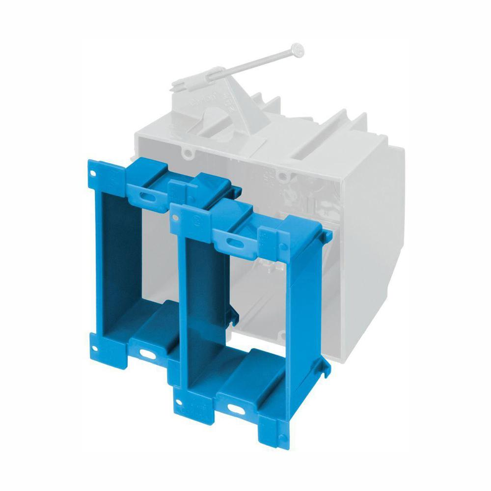 Carlon Multi-Gang Non-Metallic Electrical Box Extender (2-Pack)