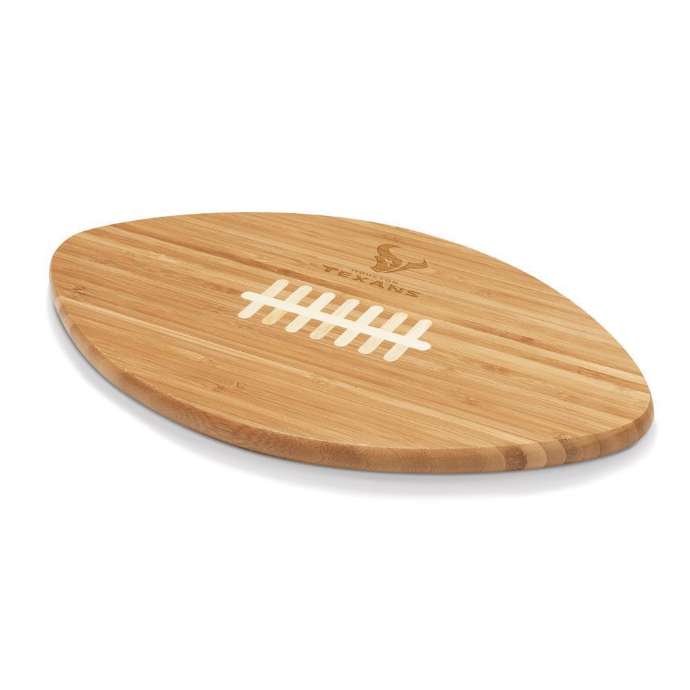 Houston Texans Touchdown Pro Bamboo Cutting Board