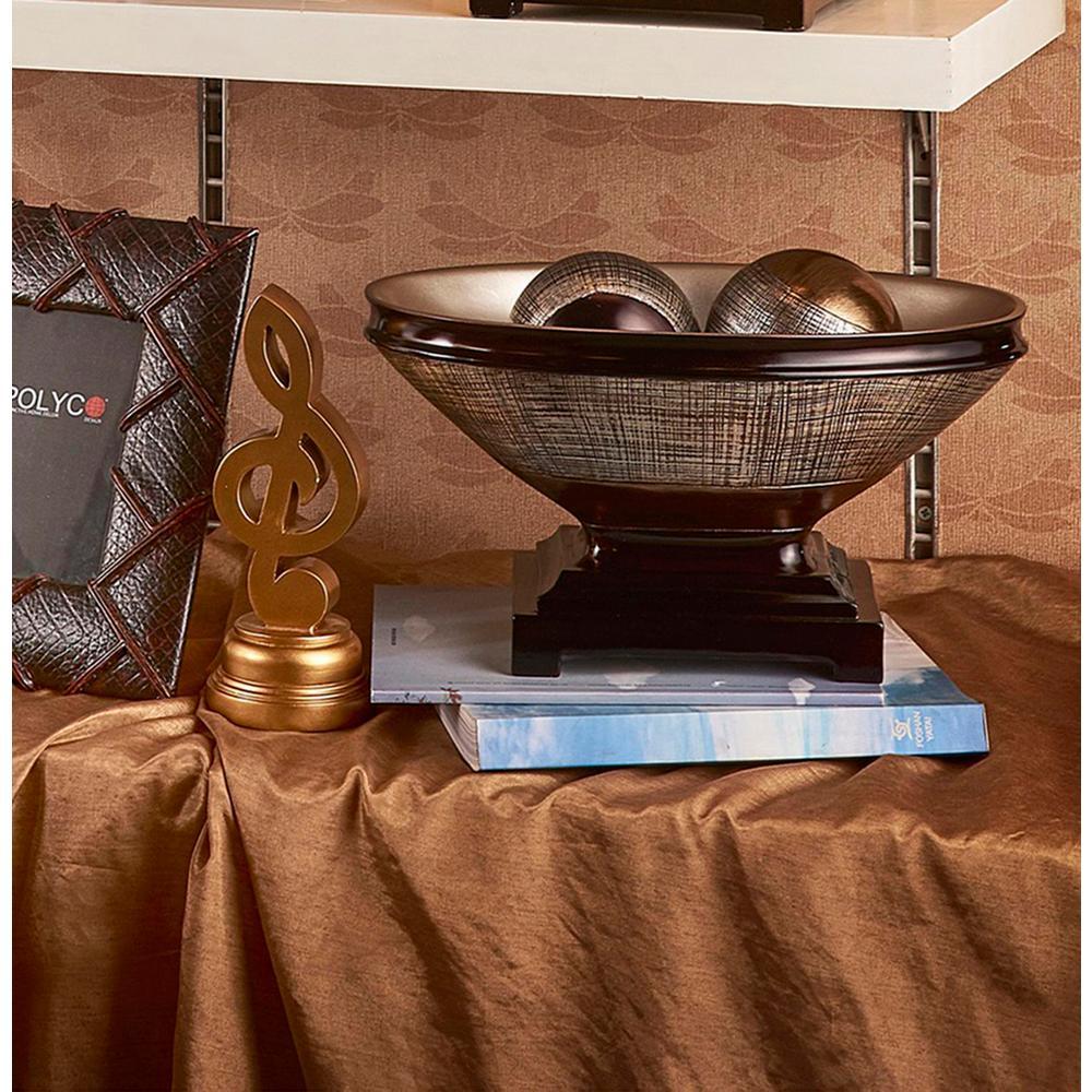 Naomi Bronze Decorative Bowl