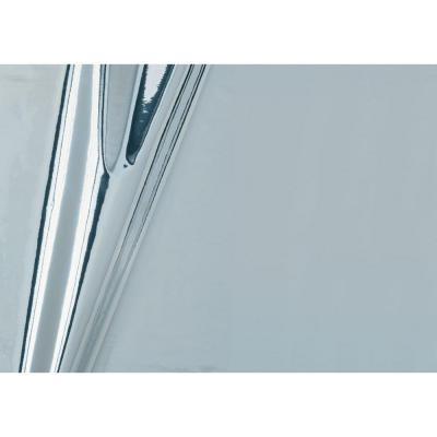 d-c-fix Glossy Silver 17 in. x 59 in. Home Decor Self Adhesive Film