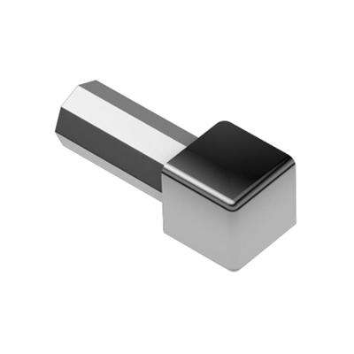 Quadec Stainless Steel 9/32 in. x 1 in. Metal Inside/Outside Corner