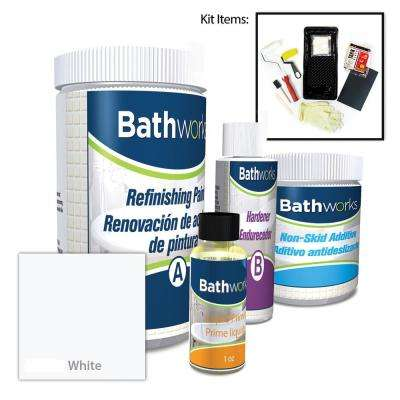 22 oz. DIY Bathtub Refinish Kit with SlipGuard in White