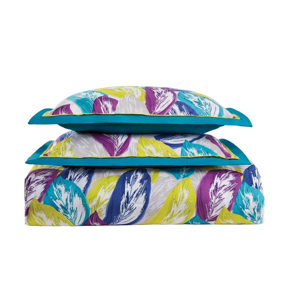 Plume Full / Queen Comforter Set