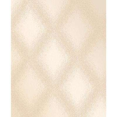 Peoria Gold Diamond Weave Wallpaper