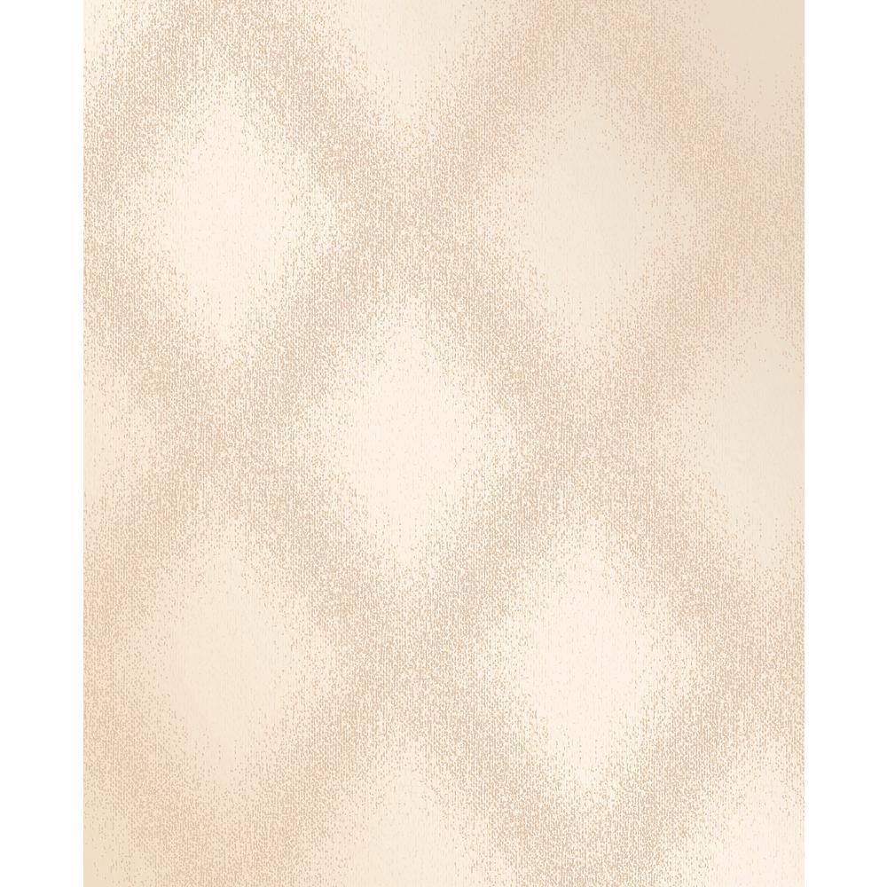 Decorline Peoria Gold Diamond Weave Wallpaper