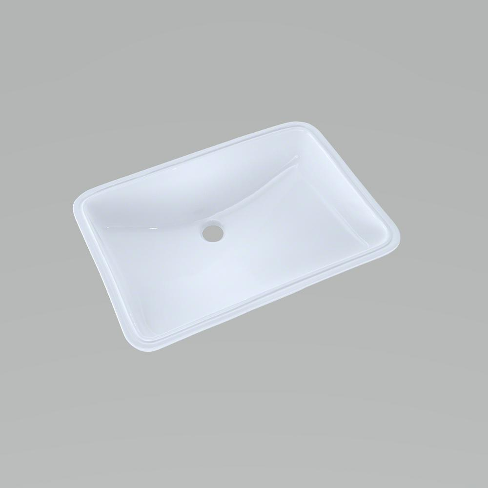 Toto 21 In Undermount Bathroom Sink With Cefiontect In