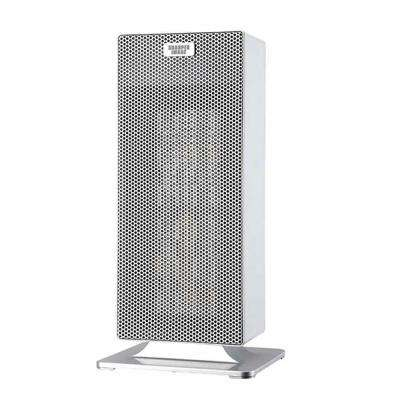 15 in. White Ceramic Tower Heater