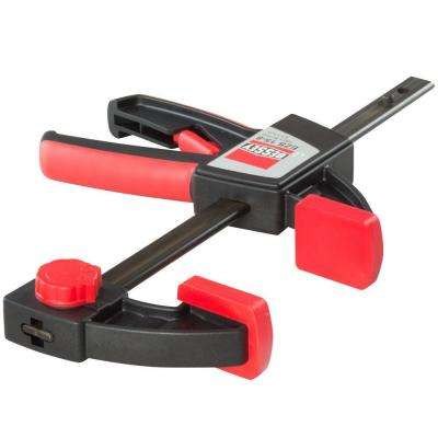 6 in. 1-Hand Trigger Clamp with 3-1/2 in. Throat Depth