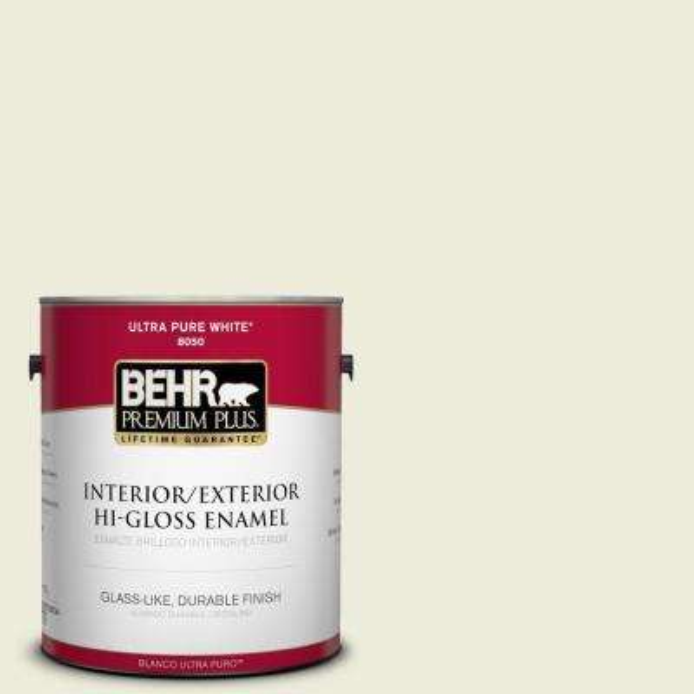 1-gal. #M350-1 Grass Root Hi-Gloss Enamel Interior/Exterior Paint