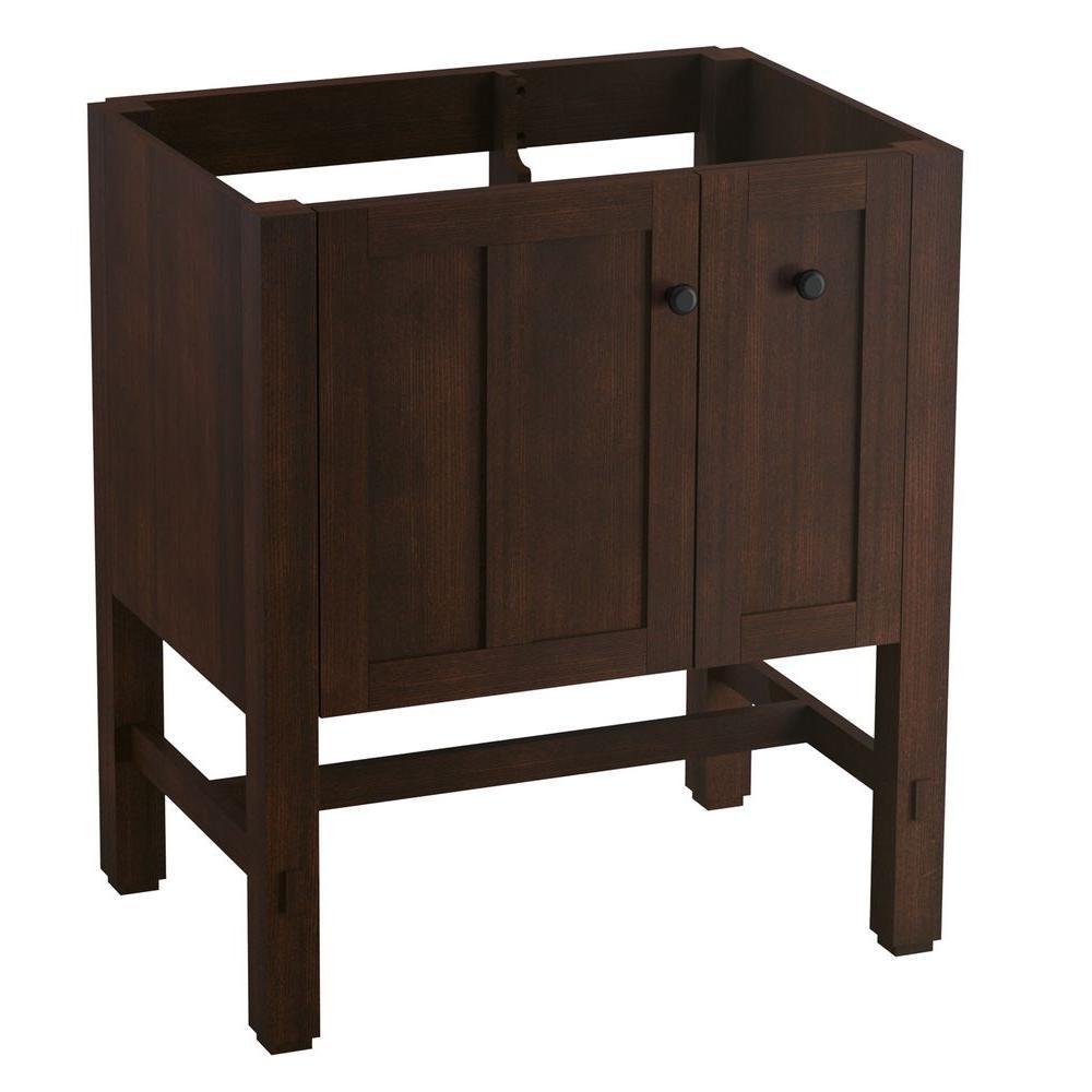 Tresham 30 in. W x 21-7/8 in. D x 34-1/2 in. H Vanity Cabinet in Woodland