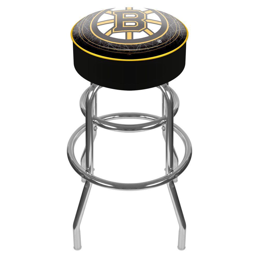 Trademark NHL Boston Bruins Padded Swivel Bar Stool
