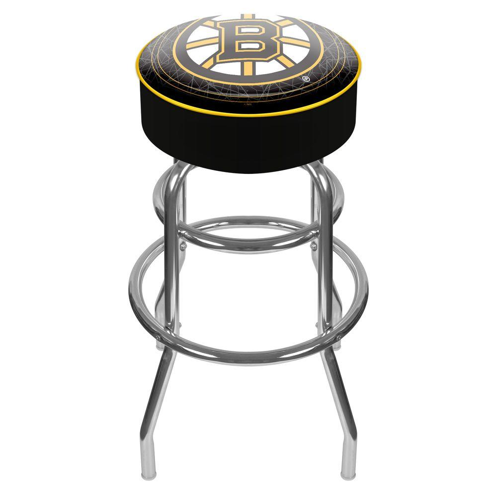 Trademark NHL Boston Bruins Padded Swivel Bar Stool
