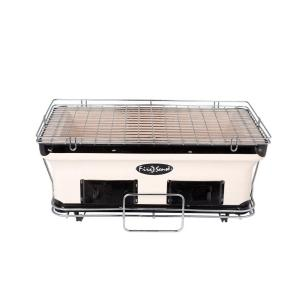 Fire Sense Large Yakatori Charcoal Grill in Tan by Fire Sense
