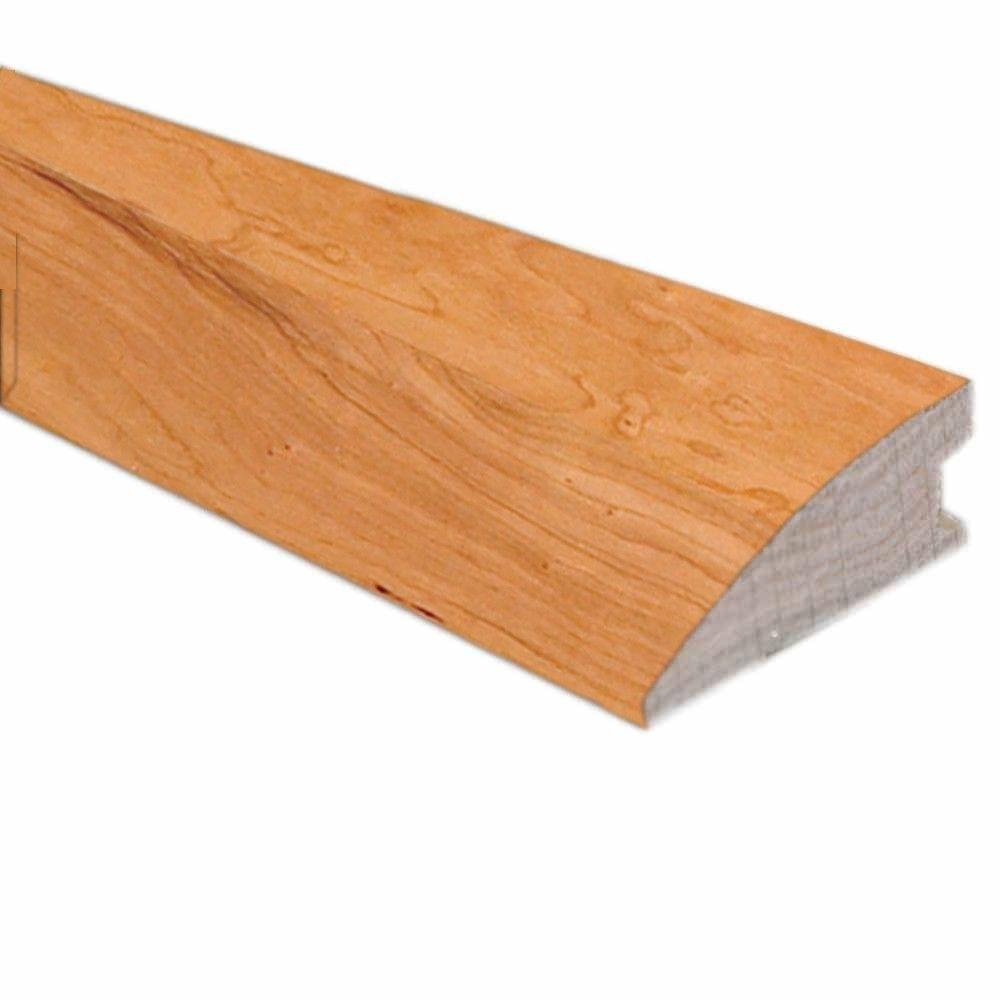 American Cherry Natural 1/2 in. Thick x 1-3/4 in. Wide x 78 in. Length Hardwood Flush-Mount Reducer Molding
