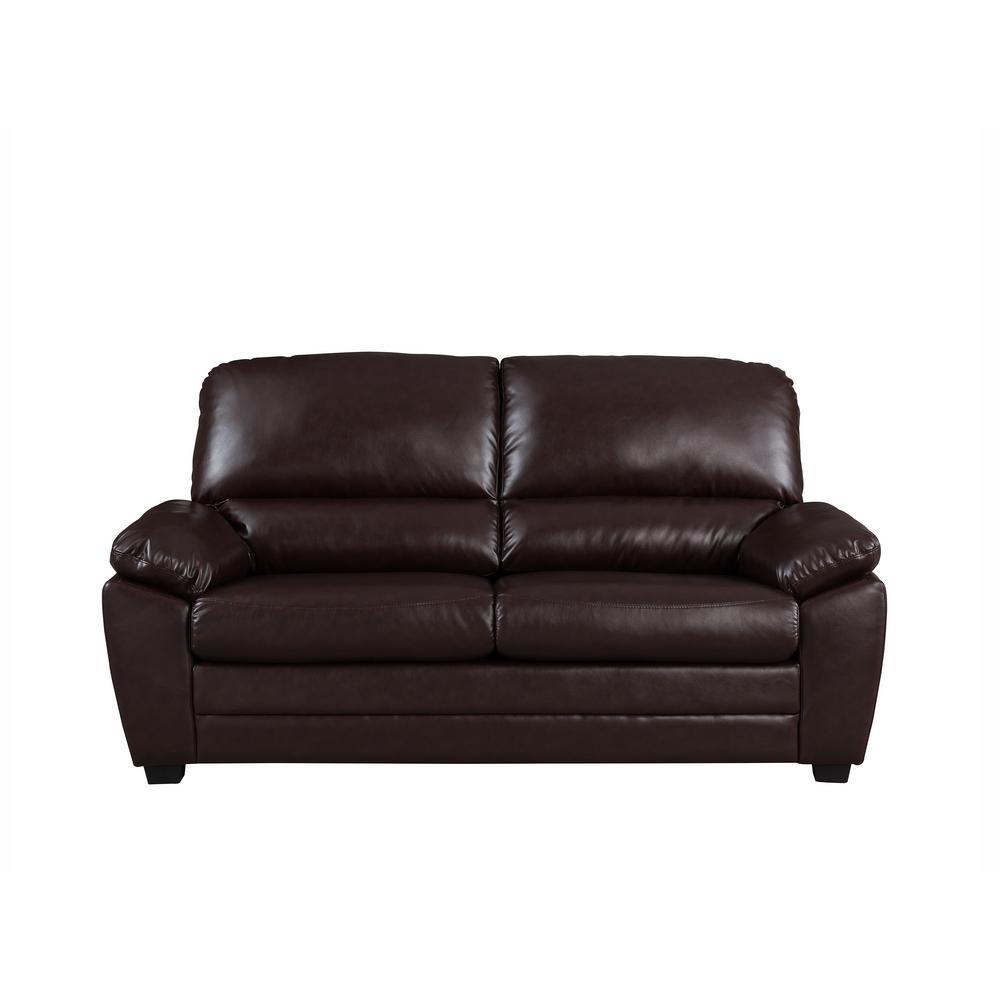 Crawford Burke Dark Brown Sofa
