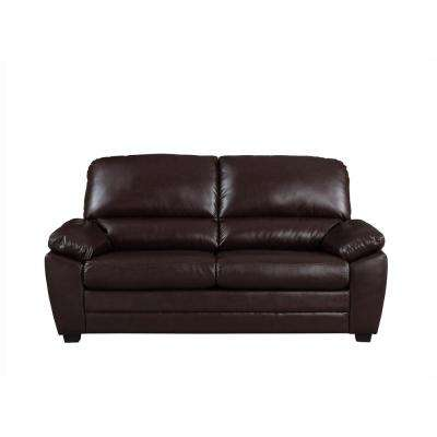 Cary Dark Brown Sofa