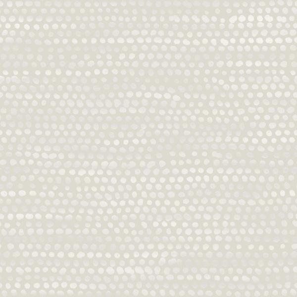 Tempaper Moire Dots Pearl Grey Self-Adhesive, Removable Wallpaper MD10581