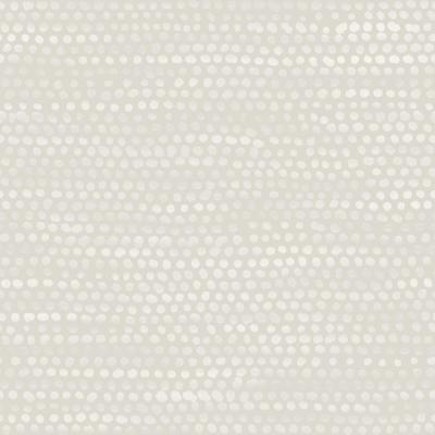 Moire Dots Pearl Grey Peel and Stick Wallpaper 28 sq. ft.