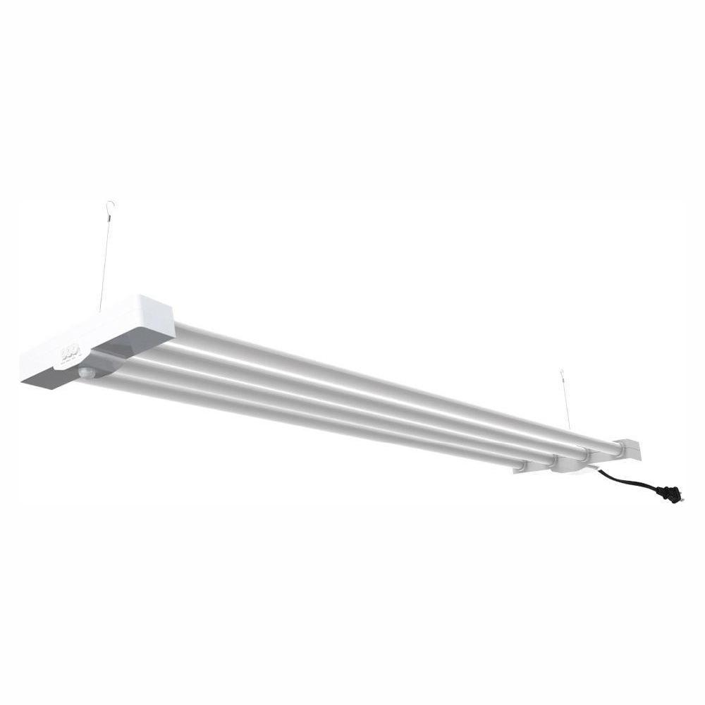 Commercial Electric 4 Ft Light White Led Utility Motion Control High Bay