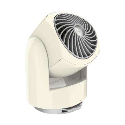 Flippi V6 3.4 in. Personal Circulator Fan in Vintage White