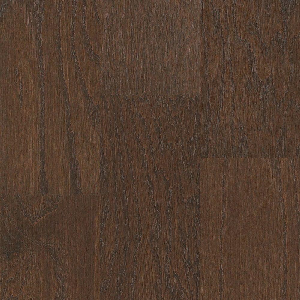 Shaw Take Home Sample - Macon Java Oak Engineered Hardwood Flooring - 5 in. x 7 in.
