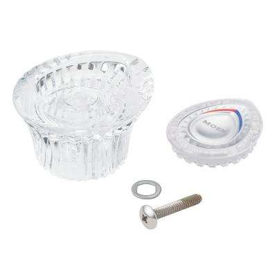 Chateau Handle Kit in Clear