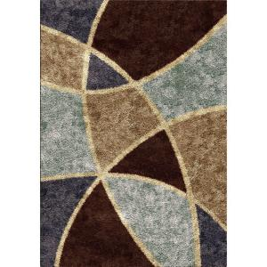 Orian Rugs Divulge Chocolate 2 ft. 7 inch x 3 ft. 9 inch Indoor Accent Rug by Orian Rugs